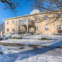 The Dreier building in winter
