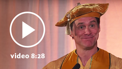 Jim Carrey's advice to graduating students at Maharishi University