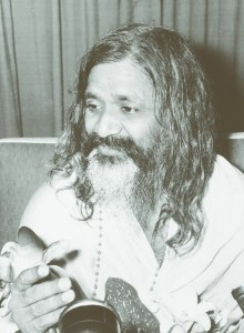 Maharishi talking at the conference 156250