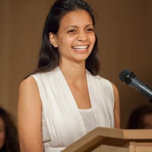 Graduation awards ceremony