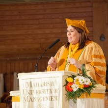 2012 Commencement speaker Candy Crowley