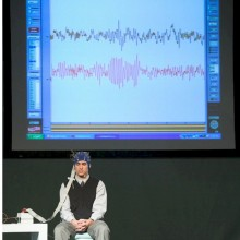 EEG scan showing brain activity