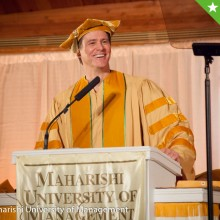 One of Jim's favorite photos from his commencement address