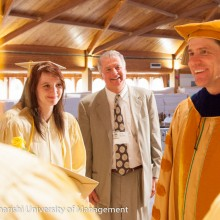 Jim Carrey Speaks with MUM Graduates