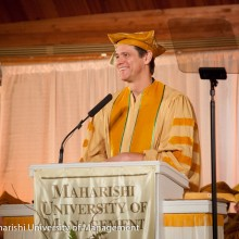 Jim Carrey giving his commencement address to the class of 2014