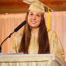 Donna Marie Jones, MUM Valedictorian 2014