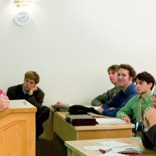 Dr. John Hagelin's Physics class
