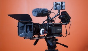 red-camera-film