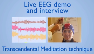 EEG brain demo video
