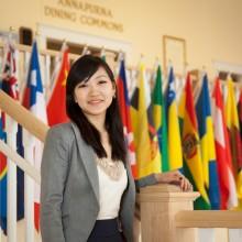 Student in Argiro center