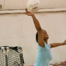 Volleyball in the Rec Center