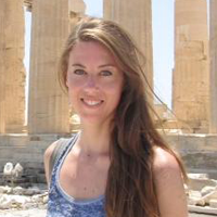 Emily Marcus in Greece