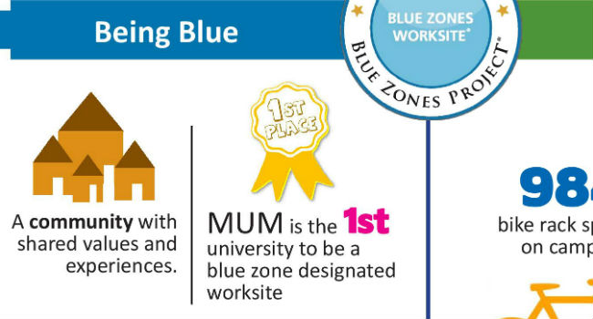 Blue Zones Infographic ft