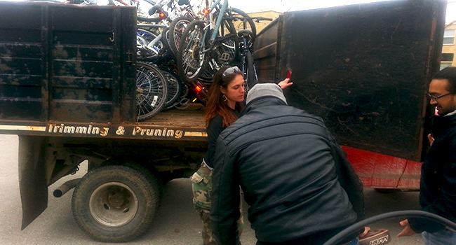 bike pickup