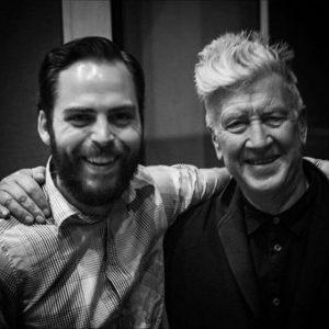 DLMFA alum Johnny Coffeen with David Lynch