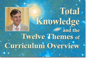 Total Knowledge and the Twelve Themes of Curriculum Overview * image of Dr. Peter Warburton