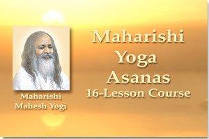 Maharishi Yoga Asanas, 16-Lesson Course * image of Maharishi Mahesh Yogi