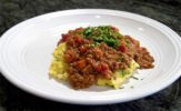 Brown lentil stew