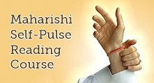 Maharishi Self Pulse Reading Course * image of person taking their pulse