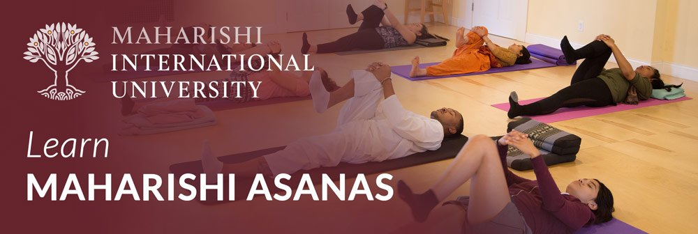 Learn asanas at Maharishi International University