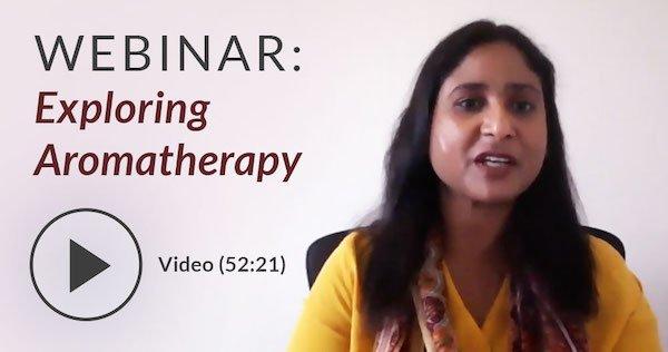 aromatherapy webinar, 52 minutes